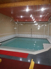 Сауна в аренду с бассейном и всеми удобствами площадью 300 м2.